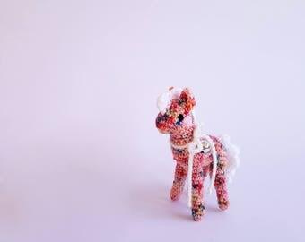 Miniature Animal Doll | #MiniHoof: Confetti the Pony