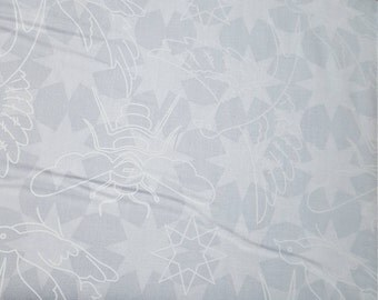 Alison Glass Seventy Six Flourish Shadow White Low volume Fabric by the Yard