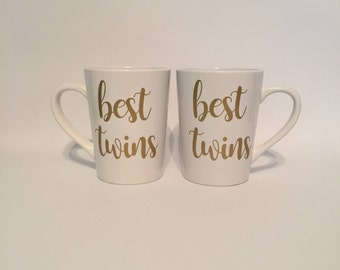 Best Twins - Coffee Mug - Sister Gift - Christmas Gift - Birthday Gift - Best Friend Gift