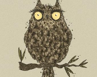 Nightowl Print