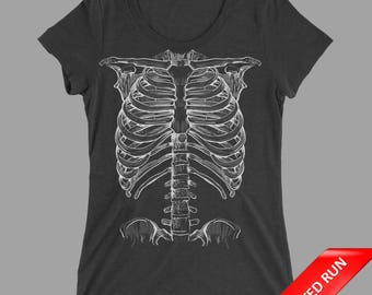 Ribcage Tri-Blend Track Tee