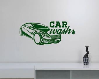 Repair Service Decal Etsy - Vinyl decals car wash