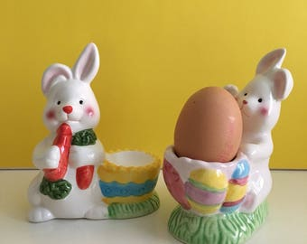 Bunny Egg Cup Etsy