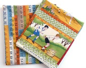 Recess Fabric Remnants 2 Designs - American Jane Patterns / Moda Fabrics - Nursery Fabric - Children At Play Fabric - Yard Stick Fabric