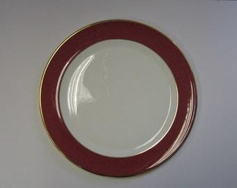 Wedgewood, Crown Ruby, Bone China Plate