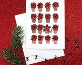 Demogorgon Monster Stranger Things Holiday Christmas Card