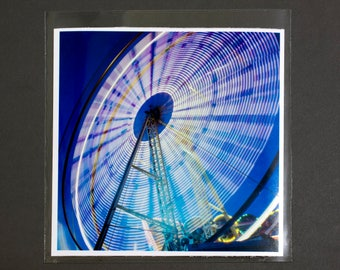 "Fine Art Photography ""Ferris Wheel"" Archival Print"