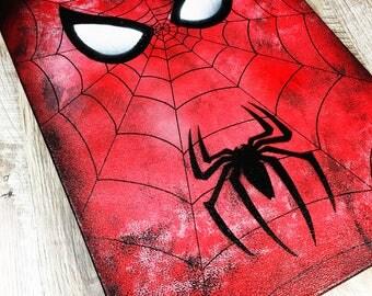 Spiderman Wall Art spiderman art print a4 art print 8x11 marvel art
