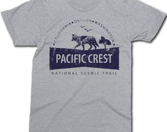 Pacific Crest Trail - National Scenic Trail - Hiking T-Shirt