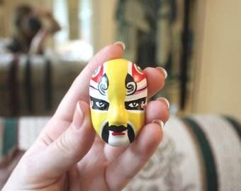 Thumbprint Chinese Opera Mask