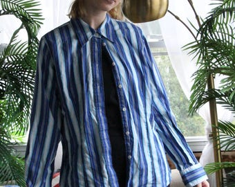 Striped Jones New York Button-Up