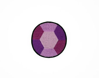 Amethyst Patch, Steven Universe Patch, Steven Universe Amethyst Patch, Crystal Gem Patch, Steven Universe Pin, Iron On Amethyst Patch