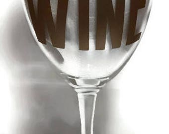 Wine Glass - But First Wine