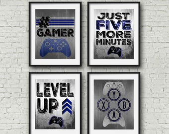 Game Room Wall Art game room wall art | etsy