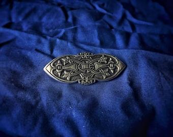Viking Brooch (Birka) Historical Viking Brooch Viking Brooches for Viking Outfit Viking Jewelry Viking Cloak Pin Fibula Norse Jewelry SCA