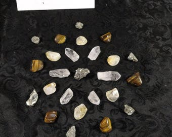 Wealth and Prosperity Crystal Grid Set ~ Wealth Crystal Grid Kit ~ Quartz Prosperity Crystal Grid Set ~ Wealth and Prosperity Crystal Grid