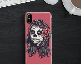 Los Muertos Phone case iPhone 8 Case iPhone 8 PLUS Case iPhone X Case iPhone 10 Case iPhone 7 Case iPhone 7 plus Case Gift