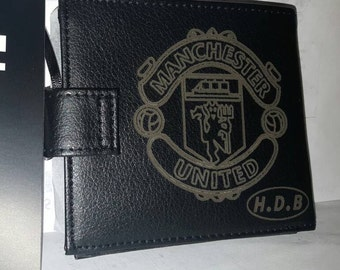 Personalised Firetrap leather wallet
