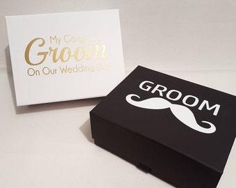 Personalised grooms box, grooms gift, personalised gift, wedding groom, groom present