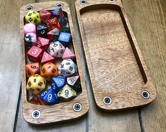 Polyhedral XL Dice Sleeve for Dungeons and Dragons (DnD) or Pathfinder RPGs
