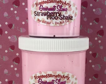 Strawberry Moo-Shake Slime