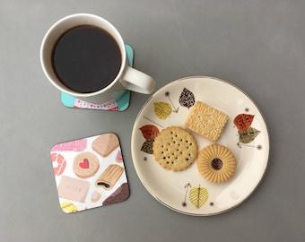 Biscuits coaster