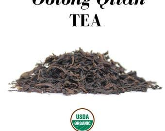 Organic Oolong Qilan Loose Herbal Tea (USDA Organic & Fair Trade)