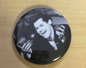 Harry Styles Custom Pinback Button-2.25 inch NEW!