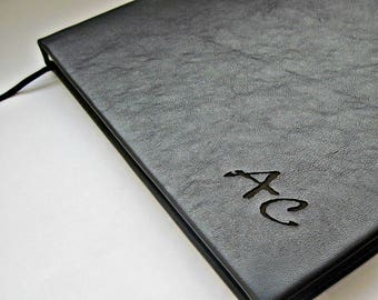 Engraved. Personalized . Personalized Leather  NAME or INITIALS for personalization