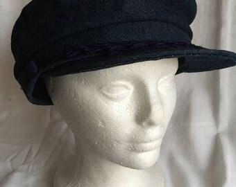Vintage Greek fisherman cap hat
