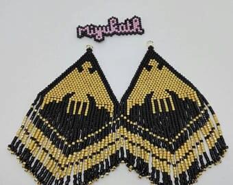 "Earrings ""Eagle"" on order"