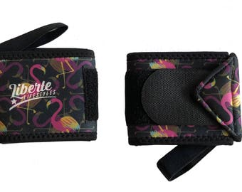 Flamingo Wrist Wraps