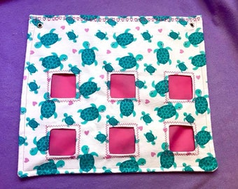 Made to Order Turtle Hay Bag! For Guinea Pigs, Rabbits, Small Animals!