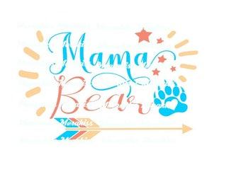 Mama bear png,pdf.eps.svg files