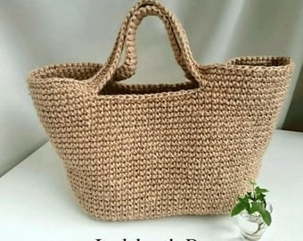Square hemp bag