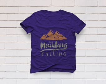 Mountains are calling svg, Mountains svg, Adventure svg, Winter svg, Summer svg, Cricut, Cameo, Cut file, Clipart, Svg, DXF, Png, Pdf, Eps
