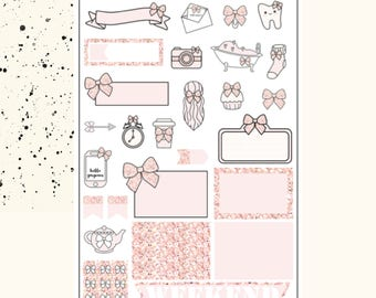 The ULTIMATE Bow Sampler | Planner Stickers | Premium Matte Paper