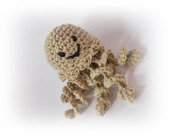 Octopus crochet Cute Octopus Toy Stuffed octopus knitted amigurumi wedding decoration Octopus jellyfish Crochet octopus