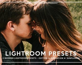3 Lightroom Presets