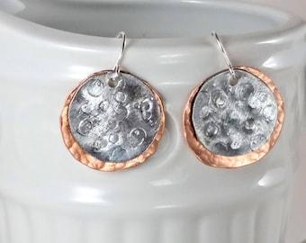 Eclipse Earrings, Celestial Earrings, Solar Eclipse Earrings, Sun Moon Earrings, Eclipse Jewelry, Solar Eclipse 2017, Celestial Jewelry, Sun