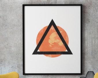Minimalist Geometric Print, Printable Minimalist Wall Art, Scandinave Affiche, Extreme Minimalist Art, Nordic Print Art, Nordic Wall Decor