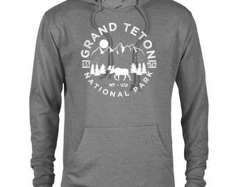 Grand Teton National Park Adventure Unisex Hoodie