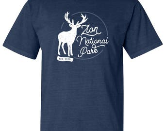 Zion National Park Adventure Comfort Colors TShirt