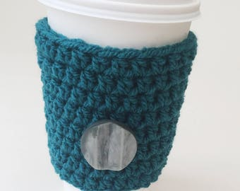 Coffee Cozy, Coffee Cosy, Coffee Sleeve, Tea Cozy, Starbucks Reusable Coffee Sleeve, Textured Coffee Cozy, Crochet Cozy, Textured Tea Cozy