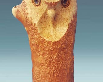 Owl statues, wooden owl, wood carved owl, wood sculpture, wooden owl sculpture, wood carving, carved owl, wood owl, Karelian birch owl, wood