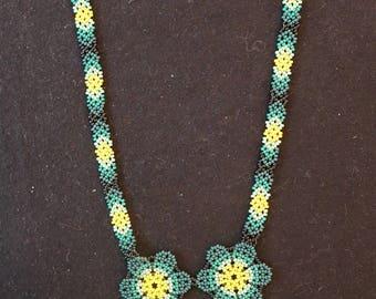 Huichol Peyote necklace