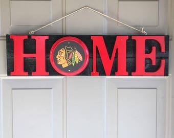 Chicago Blackhawks, Chicago Blackhawks Gifts, Chicago Blackhawks Signs, Chicago Blackhawks Decor, Chicago Blackhawks Fan