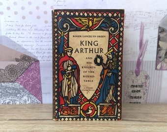 King Arthur And His Knights Of The Round Table By Roger Lanceyln Green (Puffin Books, 1960) Vintage Paperback