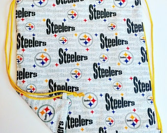 Steelers Reversible Drawstring Bag