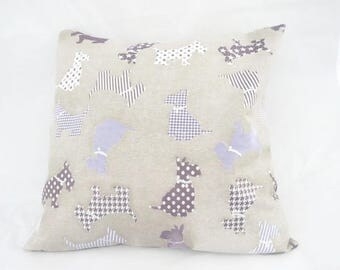 Cushion cover 40 x 40 cm upholstery, interior design Cushion cover